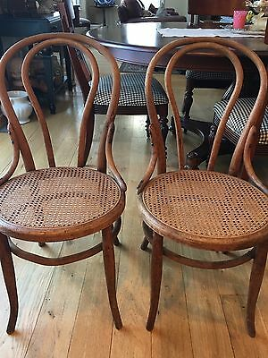 Antique Bentwood Chairs By Heywood Bro Of Gardner MA Circa 1871