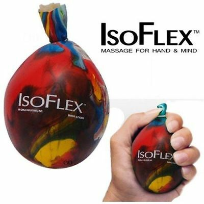 ISO FLEX stress ball sensory micro bead filled squeeze tactile anxiety relief