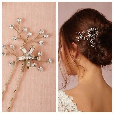 NEW Anthropologie BHLDN Twigs & Honey Stargazer Hair Bobbies Wedding