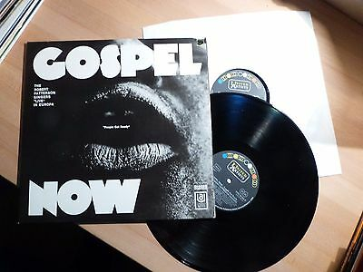 "12"" DLP Foc - The Robert Patterson Singers Live - Gospel Now - United Artists"