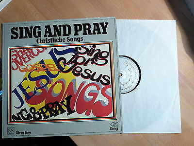 "12"" LP - Xian - Sing and Pray - Christliche Songs - HSW 2498 - VG (+)"