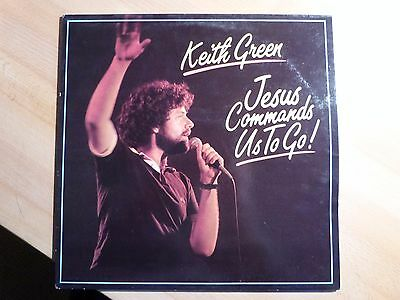 "12"" LP - Xian - Keith Green - Jesus Commands Us to Go! (11 Songs)  Sparrow 161"