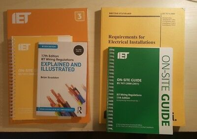 Electrical Installations IET Wiring Regulations 5 Books