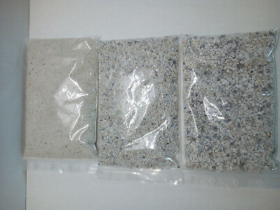 Aquarium Kies Sand Kristall Aquariumkies Aquariumsand 0,3mm - 3mm 1kg oder 10Kg