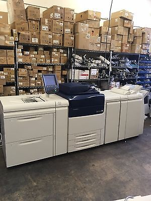 New Xerox Versant 80 Press  Fiery EX80 Dual Oversize LCT  LP Finisher  J75 C75