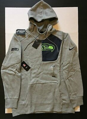 Nike NFL Seattle Seahawks Fly Fleece CD PO Hoodie Teams