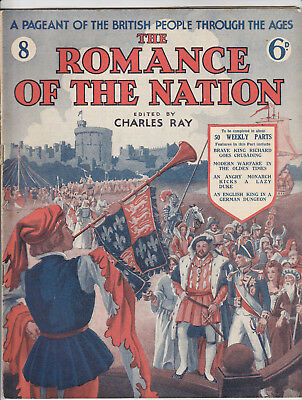 THE ROMANCE OF THE NATION Magazine Issue 8 - Richard The Lionheart (1934)