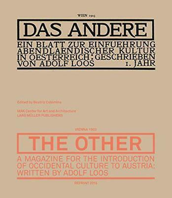 Das Andere by Adolf Loos | Paperback Book | 9783037784815 | NEW