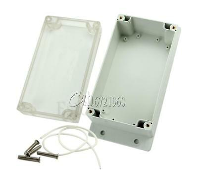 Waterproof Clear Plastic Electronic Project Box Enclosure Cover CASE158x90x65mm