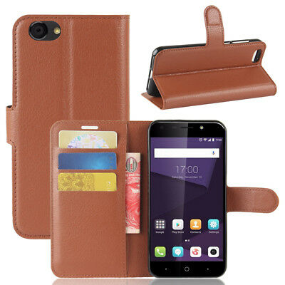 For ZTE Blade A6 Lite Flip Magnetic PU Leather Card Wallet Soft Case Stand Cover