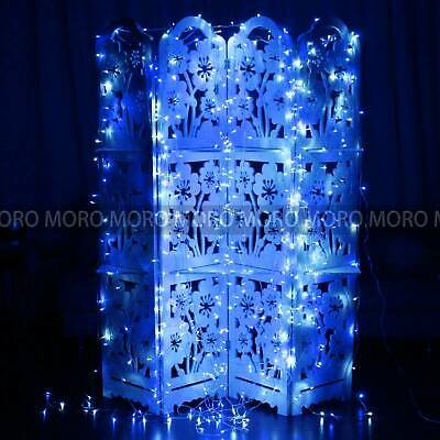 Warm White Blue LED String Lights Fairy Christmas Xmas Party Garden Wedding Deco