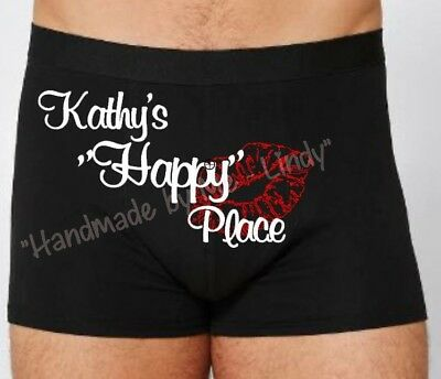 Personalised Boxer Shorts Boxers - Valentine's Day 4 men - LGBTQI friendly store