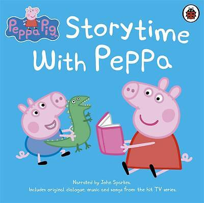 PEPPA PIG: STORYTIME WITH PEPPA by Penguin Books Ltd (CD-Audio, 2013) BRAND NEW