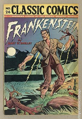 Classics Illustrated 026 Frankenstein #2A 1945 GD+ 2.5