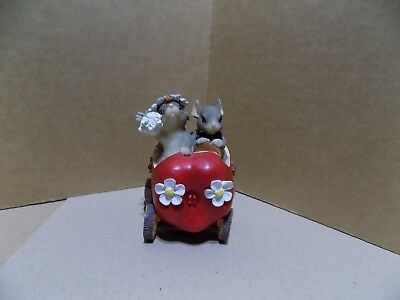 Charming Tails Figurine - The Get Away Car - JUST MARRIED