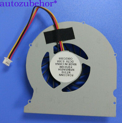 For  FOXCONN NFB61A05H NT510 NT410 NDT-PCNT510-1 nT-A3500 nT-510 Laptop CPU Fan