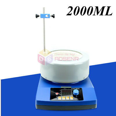 220V ZNCL-T 2000ml Digital Magnetic Stir Electric Heating Mantle Mixing Mixer