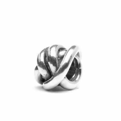 Trollbeads original authentic   NODO DELLA FORTUNA  TAGBE-10049