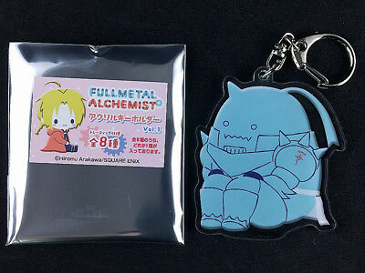 Fullmetal Alchemist Trading Acrylic Key Holder Ring Vol.1 Alphonse Elric New