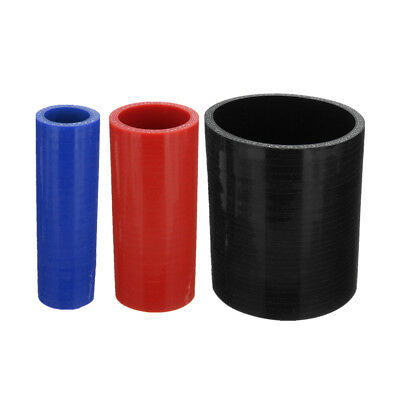 100mm Silicone Hose Coupling Connector Coupler Pipe Rubber Tube Joiner Turbo