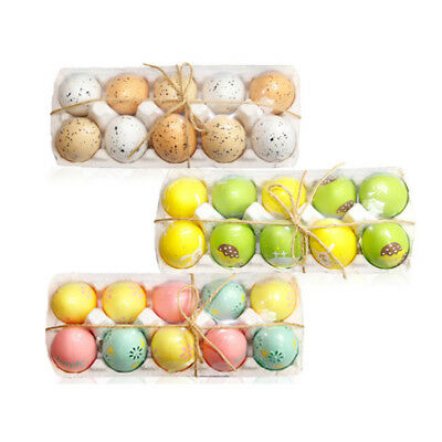 Painting Easter Eggs Decoration Kids Mixed Color Plastic DIY Egg Home Children