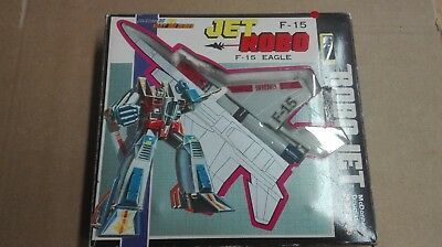 Jet Robo f15 eagle knock off Transformers Vintage Made in taiwan