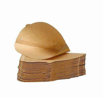 1000 Unbleached Coffee Filter Papers - Size Four (4)