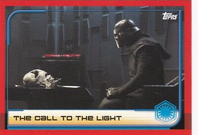 Star Wars - Card No.14 - The Call to the Light The Last Jedi