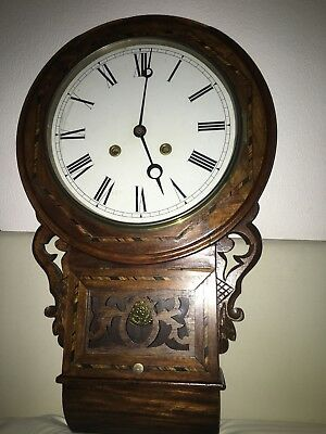 Antique Ansonia Wall Clock recently overhauled