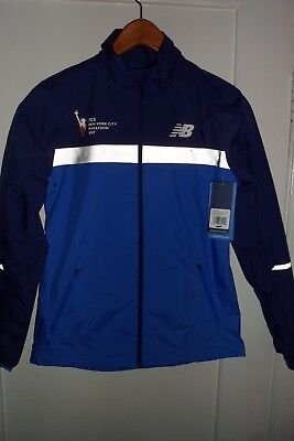 9b0a8f8fe MUST SEE AWESOME  97.99 NWT NEW BALANCE NYC Marathon Windcheater ...
