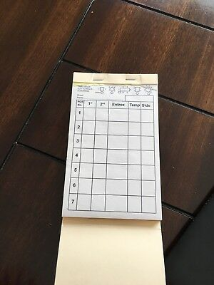 Server Order pads| Pack of 10 pads| Designed by servers for servers| WaitStaff