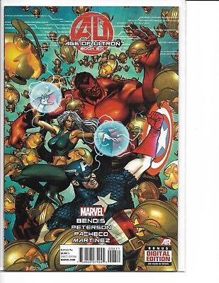 Age of Ultron Book #5 Marvel Comics