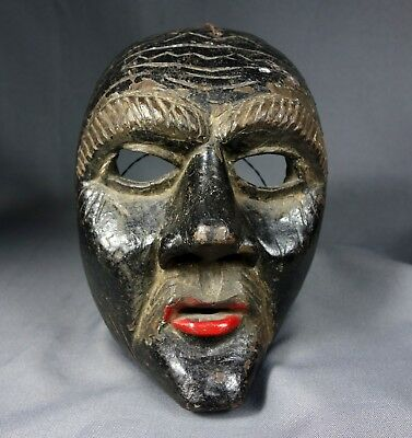 Antique Xin Hand carved Ceremonial Dance Mask from Guatemala