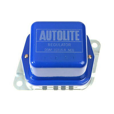 Mustang Voltage Regulator Blue With Silver Stamping 1970-1971