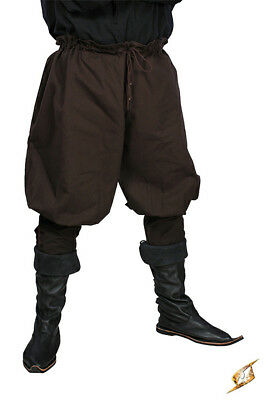 Brown pants with lacin, medieval pirate viking gn