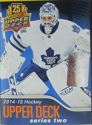 2014-15 Upper Deck Series Two, Pick 10 Base Cards to Complete Your Set.
