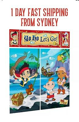 jake and the neverland pirates Scene Setter Birthday Party Theme Decorations
