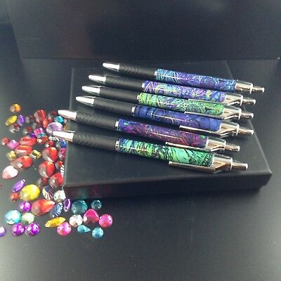 Pen Set Box (6) with Bonus Calling Cards & Notecards Small Christmas Gift