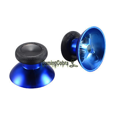 Chrome Blue Analog Thumbstick Replacement Parts for Xbox One S Elite Controller