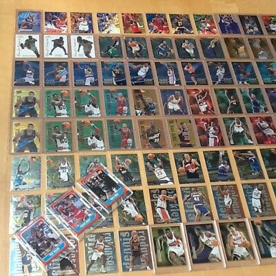 Late 90's Basketball Inserts - 100 Cards (Kobe Bryant, Ray Allen, rc's) $300 BBV