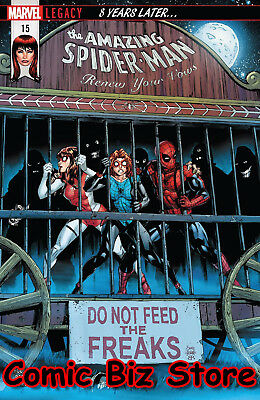 Amazing Spider-Man Renew Your Vows #15 (2018) 1St Printing Marvel Legacy Tie-In
