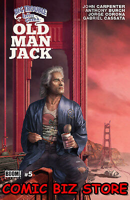 Big Trouble In Little China Old Man Jack #5 (2018) 1St Printing Cover A Boom