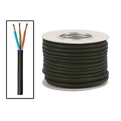 Tough Flexible Cable 3183Trs 3-Core 1.5Mm² X 50M Black