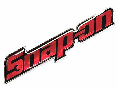 1Pc. Snap-On Racing Tools Clear Resin Coated On Reflective Sticker Decal Vinyl