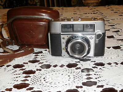 Vintage, 1959-1960, AGFA OPTIMA COMPUR film camera with fixed lens