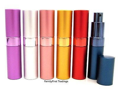 Perfume Atomiser Bottle Aftershave Atomizer 15ml Pump Travel Refillable Spray
