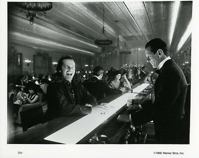 Jack Nicholson Stanley Kubrick The Shining 1980 Vintage Photo Original #4