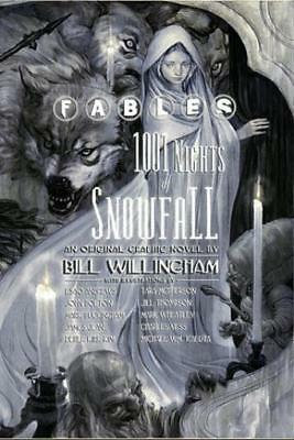 Vertigo Fantasy Comic Fables - 1001 Nights of Snowfall HC NM