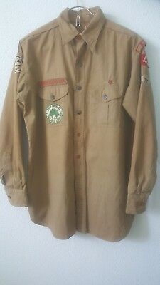 Vintage 30s-40s BOY SCOUT Uniform Shirt