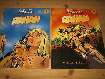Lot 2 Bd Rahan, Tomes 2 & 6 - Collection Frederique - Eo